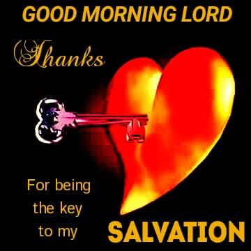 Wow awesome picture of a yellow and red heart, Good morning Lord Thanks For being the key to my Salvation